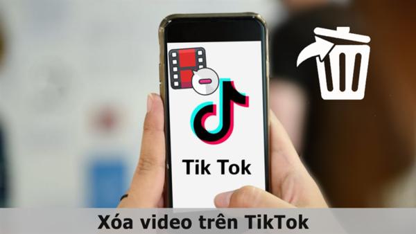 Cách xóa video trên Tiktok đơn giản, nhanh chóng