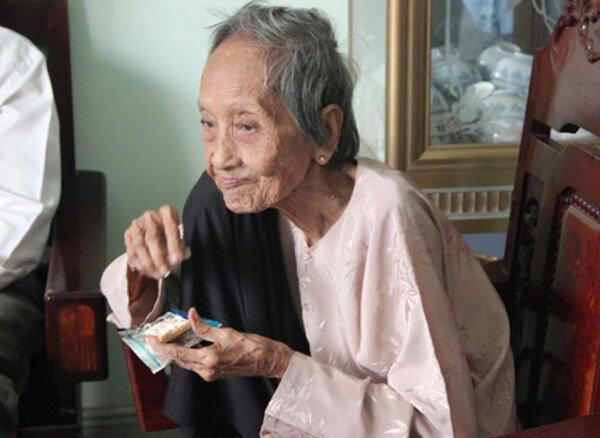 Cụ bà Nguyễn Thị Trù