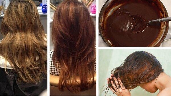 Cách nhuộm tóc bằng cà phê