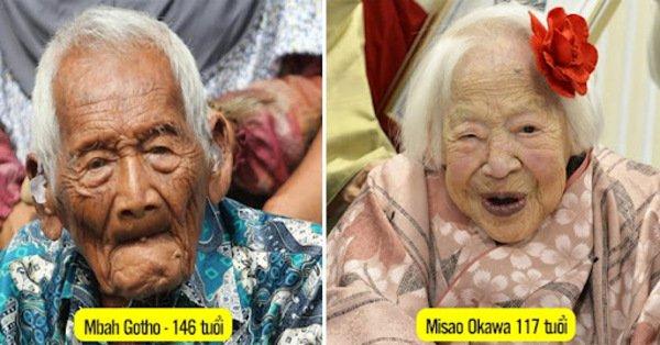 Top 10 người cao tuổi nhất thế giới? Những kỷ lục thú vị về người cao tuổi